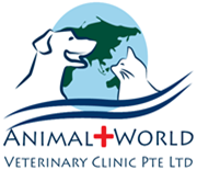 animal world veterinary clinic logo